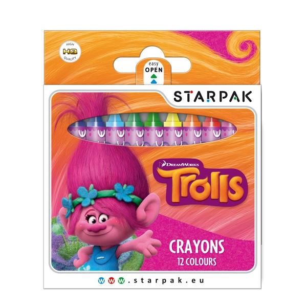 Voskovky Trollovia, 12 farieb