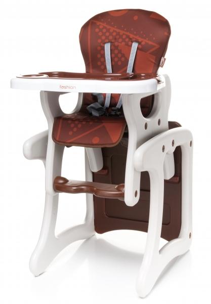 Jedálenský stolček hnedý