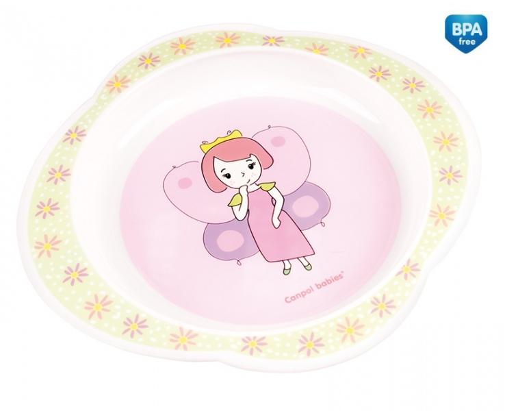 Tanierik Canpol Babies - Víla - ružový