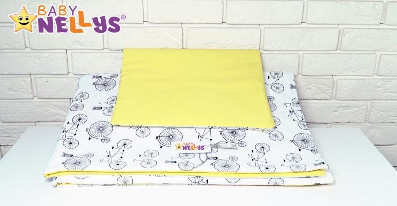 Vankúšikový mantinel s obliečkami Baby Nellys - č. Blo6