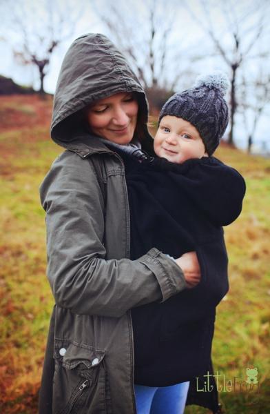 Little FROG Baby vak - fleece - grafit