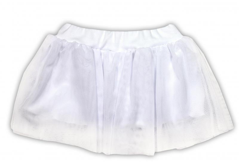 Tutu suknička NICOL PRIATELIA - BIO bavlna - smotanová-74 (6-9m)