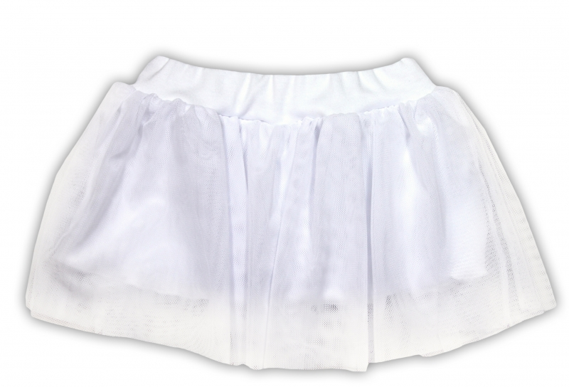 Tutu suknička NICOL PRIATELIA - BIO bavlna - smotanová-86 (12-18m)