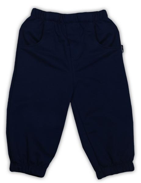 Tepláčky/nohavice NICOL PIRÁTI - tmavo modrá-104