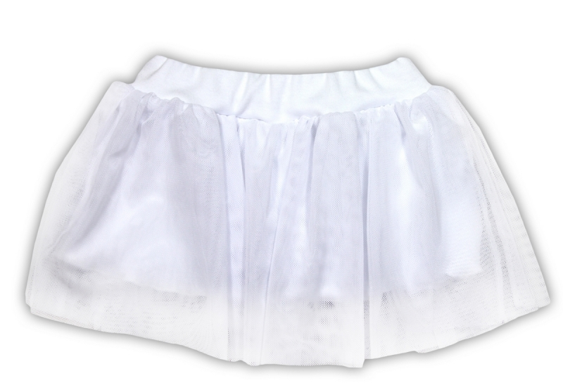 Tutu suknička NICOL KVETINKA - biela-104