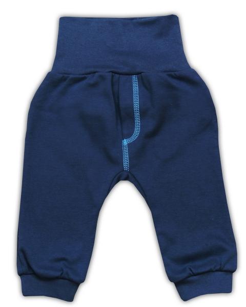Bavlnené tepláčky NICOL SEDEM - tmavo modrá