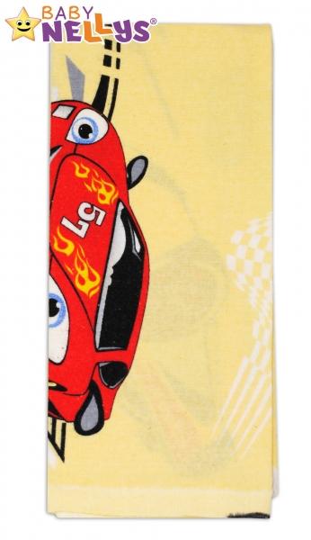 Flanelová plienka - Športové auta