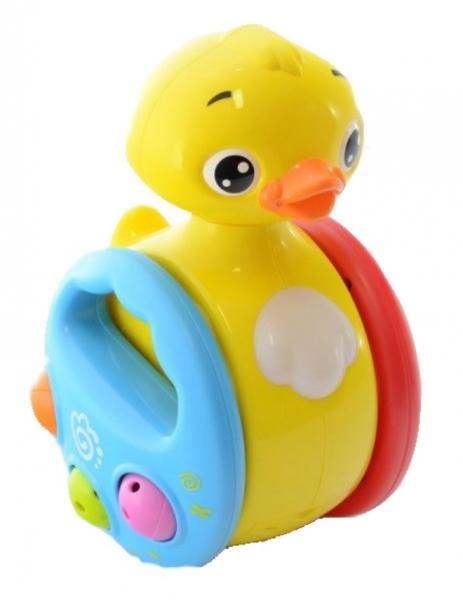 Euro Baby Interaktivní hračka s melodii a pohybem KAČENKA