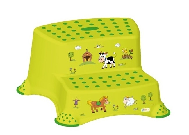 Stolička - schodíky s protišmykovou funkciou - Funny Farm