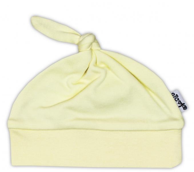 Čiapočka NICOL - žltá