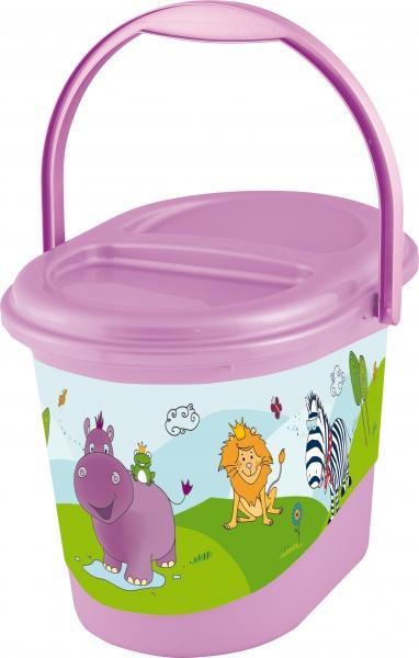 Keeeper Vedro na plienky Hippo  fialový