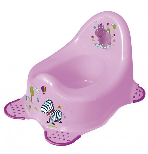 Nočník Hippo fialový