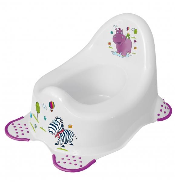 Nočník Hippo biely