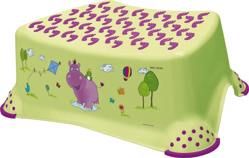 Keeeper Stolička s protišmykovou funkciou - Hippo Limetka