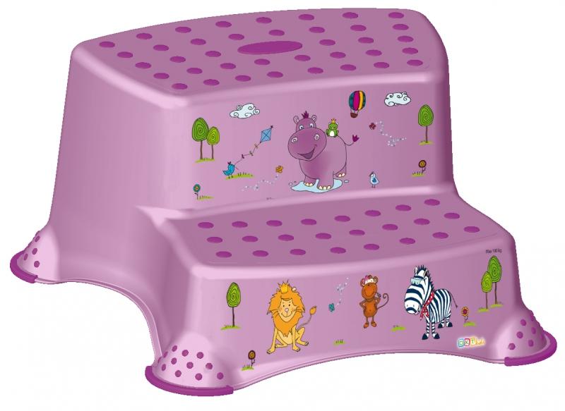 Keeeper Stolička - schodíky s protišmykovou funkciou - Hippo