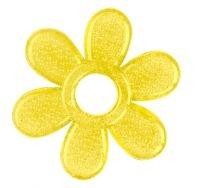 BabyOno Hryzátko gélové Baby Ono Kvetinka - žlté