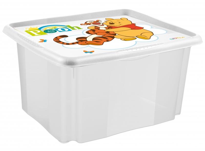 Keeeper Box na hračky Macko PU 24 l