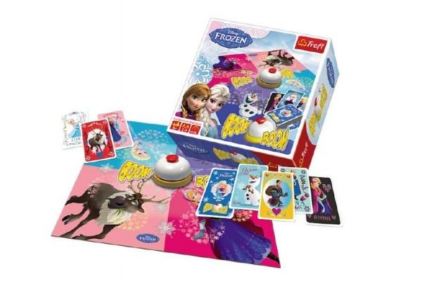 BoomBoom Ľadové kráľovstvo / Frozen spoločenská hra 26x26x8cm v krabici