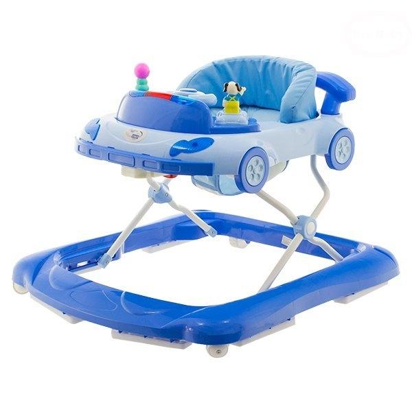 Euro Baby Multifunkčné chodítko - modré, Ce19
