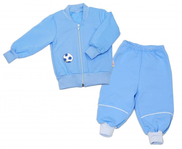 Bavlnená tepláková súprava Baby Nellys ® - modrá