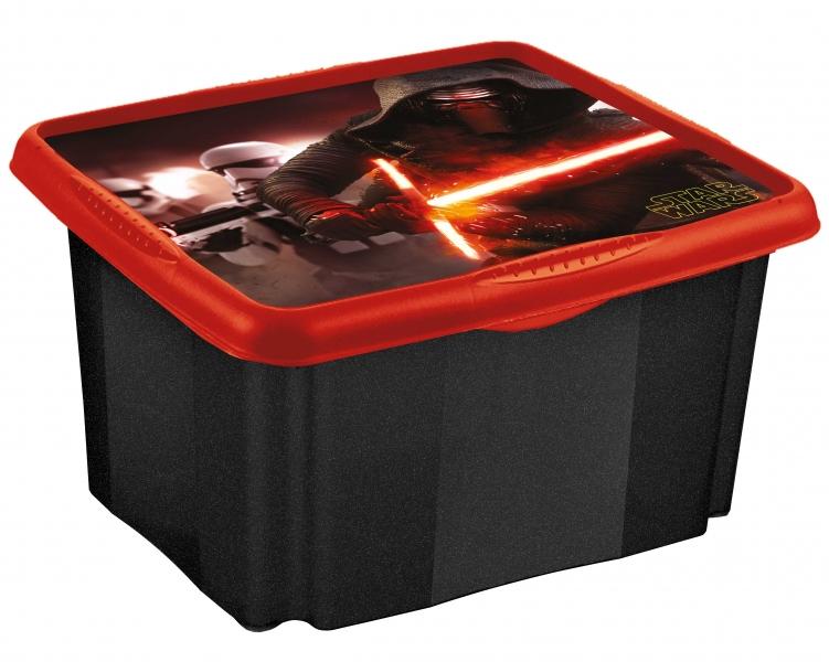 Keeeper Box na hračky Star Wars  45 l - čierny