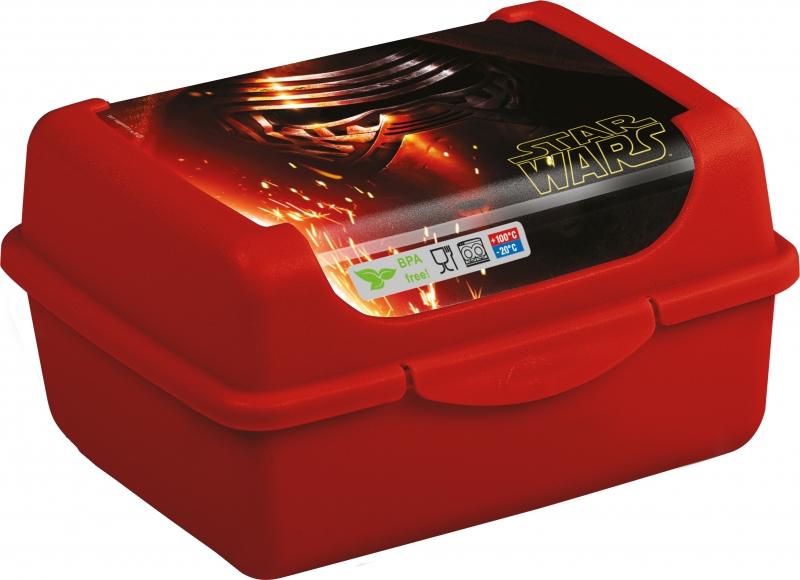 Keeeper Box na desiatu Star Wars 0,35 l - červený