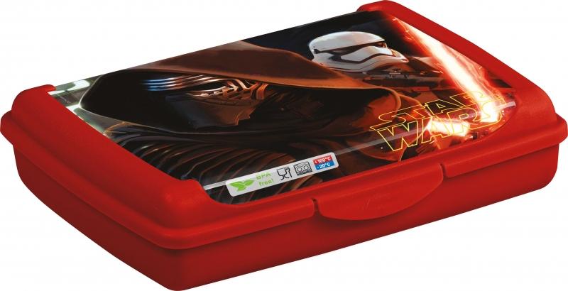 Keeeper Box na desiatu Star Wars  0,5 l - červený