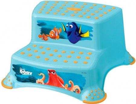 Stolička - schodíky s protišmykovou funkciou - Hľadá sa Dory - modrá