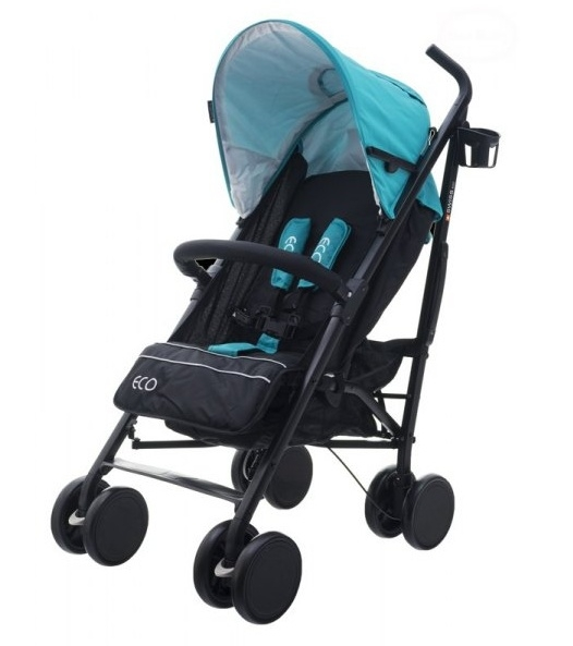 Euro Baby Športový kočík Eco Swiss design - blue, K19