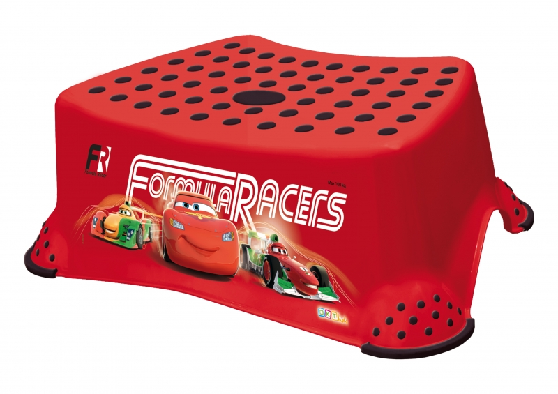 Keeeper Stolička s protišmykovou funkciou -Cars- červená