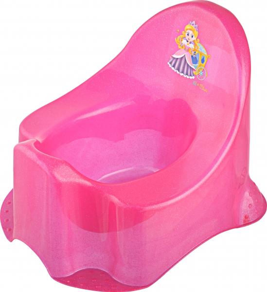 Keeeper Nočník Little Princess - ružový