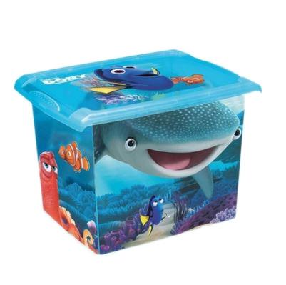 Keeeper Box dekoratívny Hľadá sa Dory 20,5 l- modrý