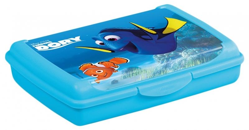 Box na desiatu Hľadá sa Dory  0,5 l - modrý