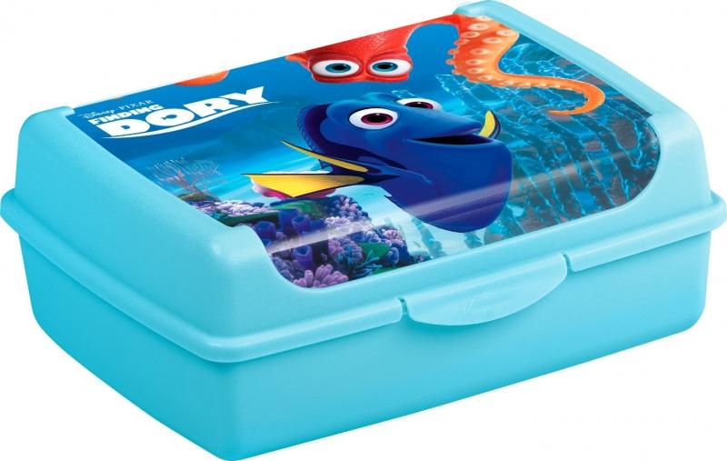 Keeeper Box na desiatu Hľadá sa Dory 1 l - modrý