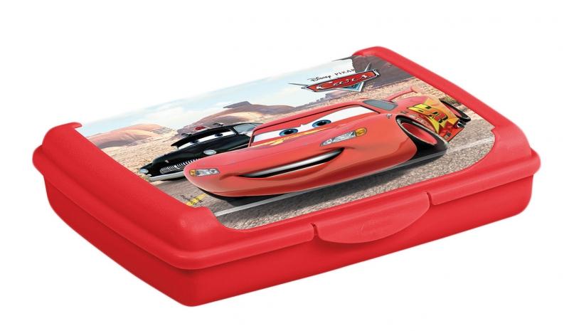 Keeeper Box na desiatu Cars  0,5 l - červený