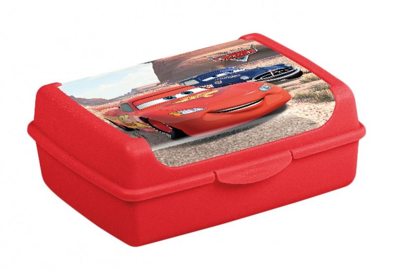 Keeeper Box na desiatu Cars 1 l - červený