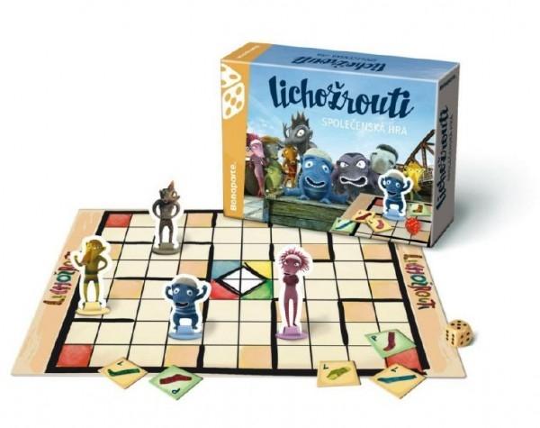 Teddies Lichožrouti spoločenská hra v krabici 28x20x6cm