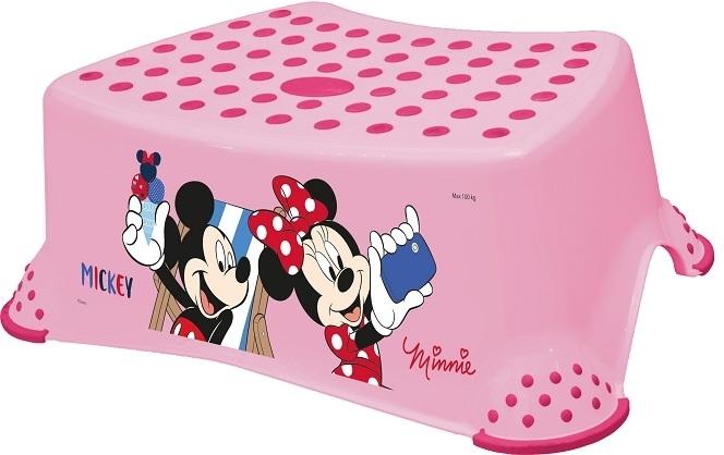 Keeeper Stolička s protišmykovou funkciou - Minnie - ružová