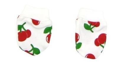 Dojčenské rukavičky Mamatti - Torta čerešnička