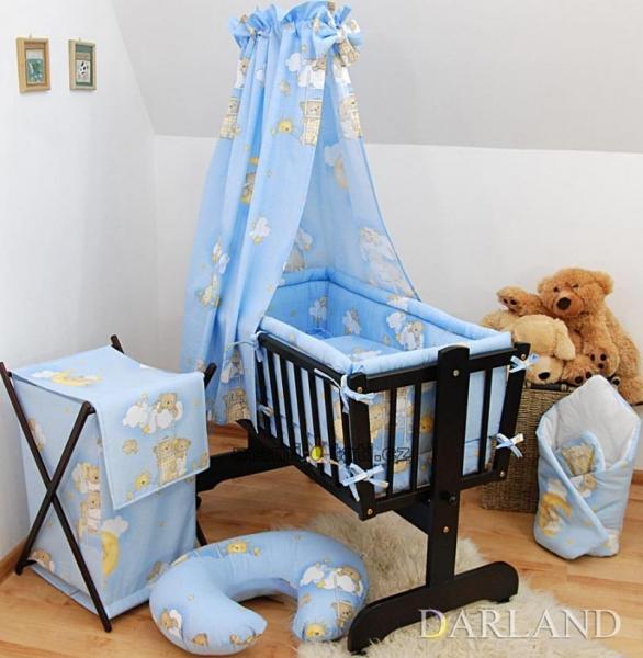 Krásny set do kolísky CL - Rebrík modrý