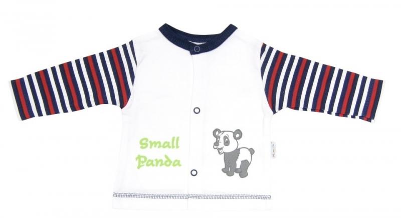 Bavlnená košieľka Mamatti - Panda-74 (6-9m)