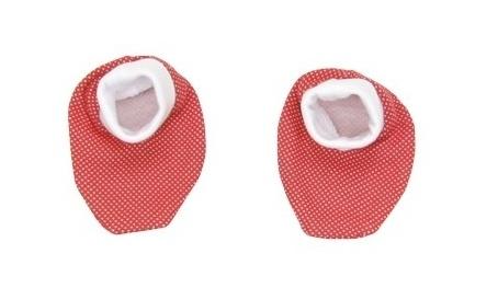 Topánočky / ponožtičky BAVLNA Mamatti - Chrobáčik v lete