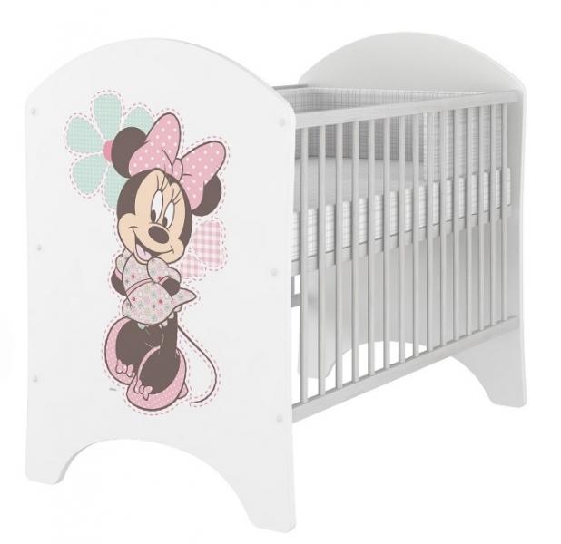 BabyBoo Dětská postieľka detská Minnie - 120x60cm, D19