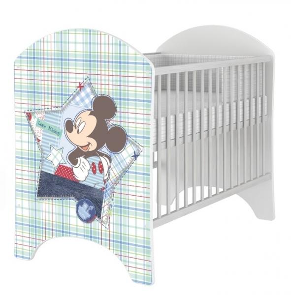 Detská postieľka Disney Baby Mickey - 120x60cm