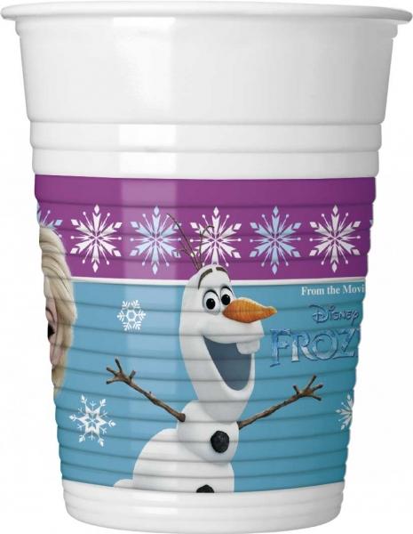 Rappa PROCOS tégliky 200 ml Frozen - Ľadové kráľovstvo 8 ks