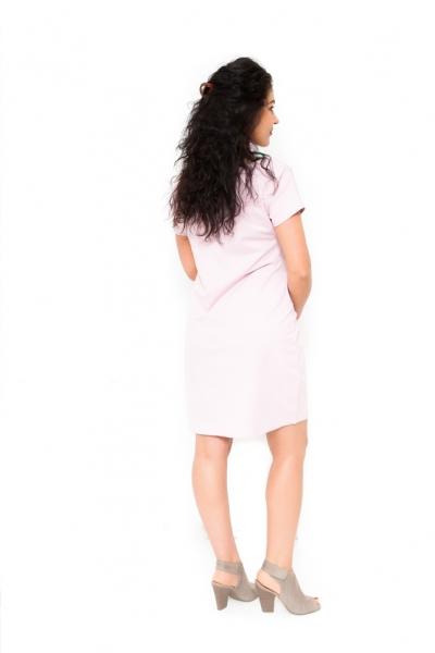Tehotenské šaty vhodné aj na dojčenie Gizela