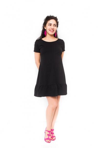 Tehotenské šaty Adela čierne
