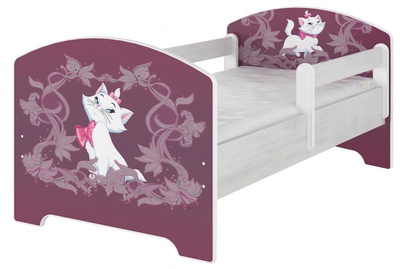 BabyBoo Detská posteľ Disney - MARIE, 160x80 cm