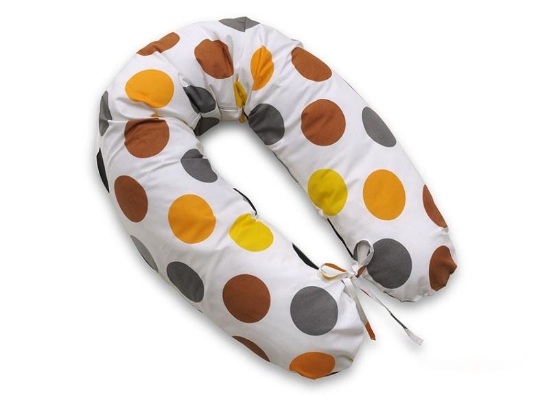 Dojčiací vankúš - relaxačná poduška Multi Bubliny - hnedé