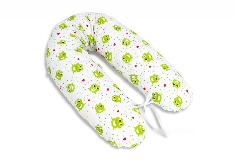 Dojčiací vankúš - relaxačná poduška Multi Žabičky